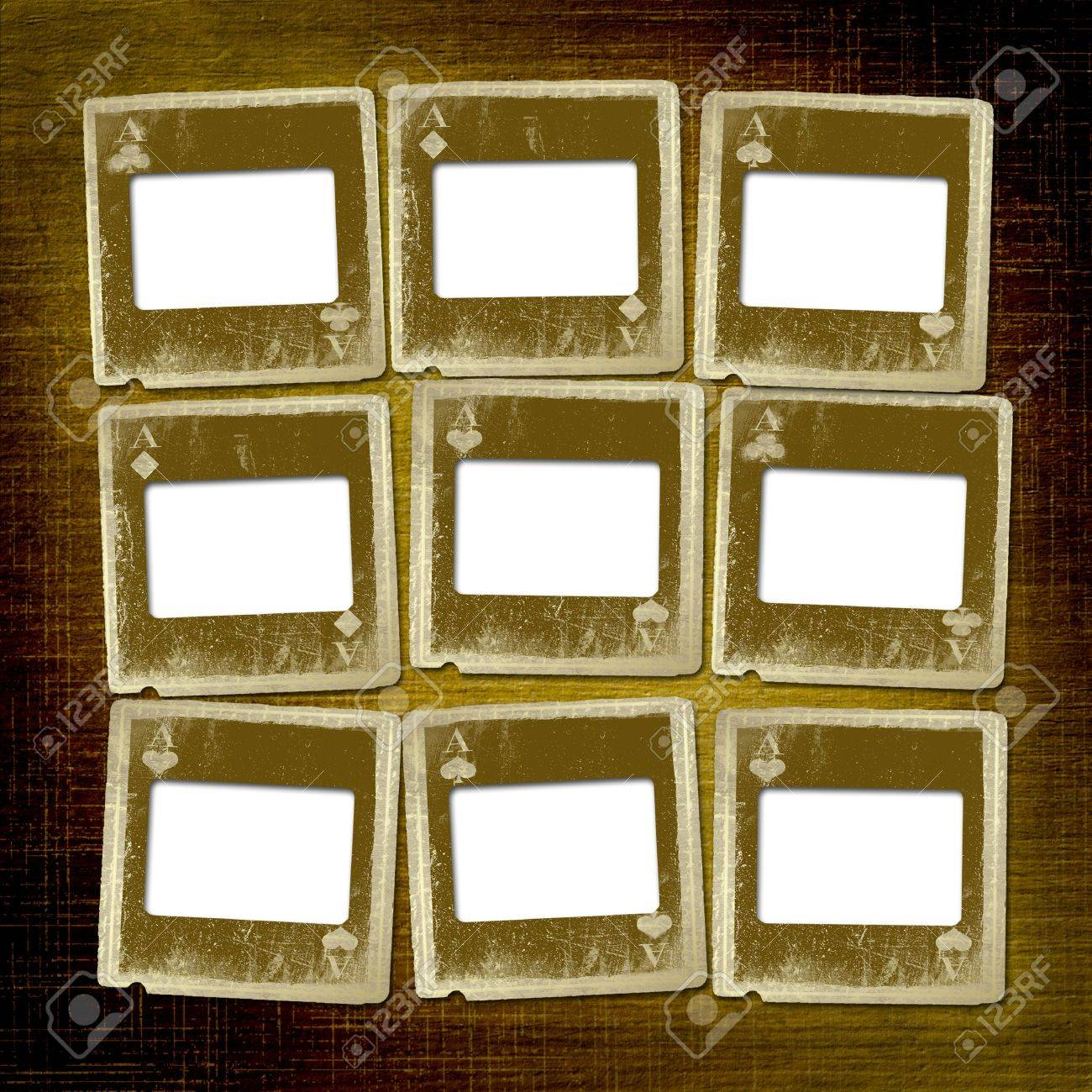Old alienated slides on the abstract background Stock Photo - 7154062
