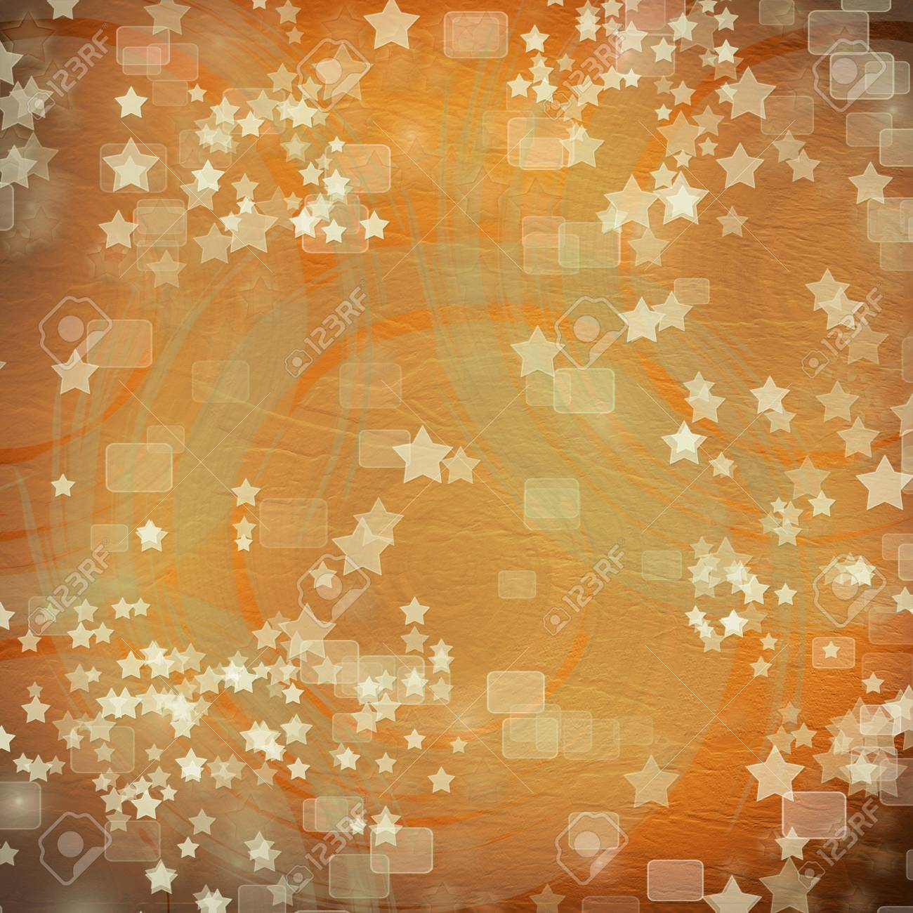 multicoloured backdrop for greetings or invitations with stars Stock Photo - 7679267