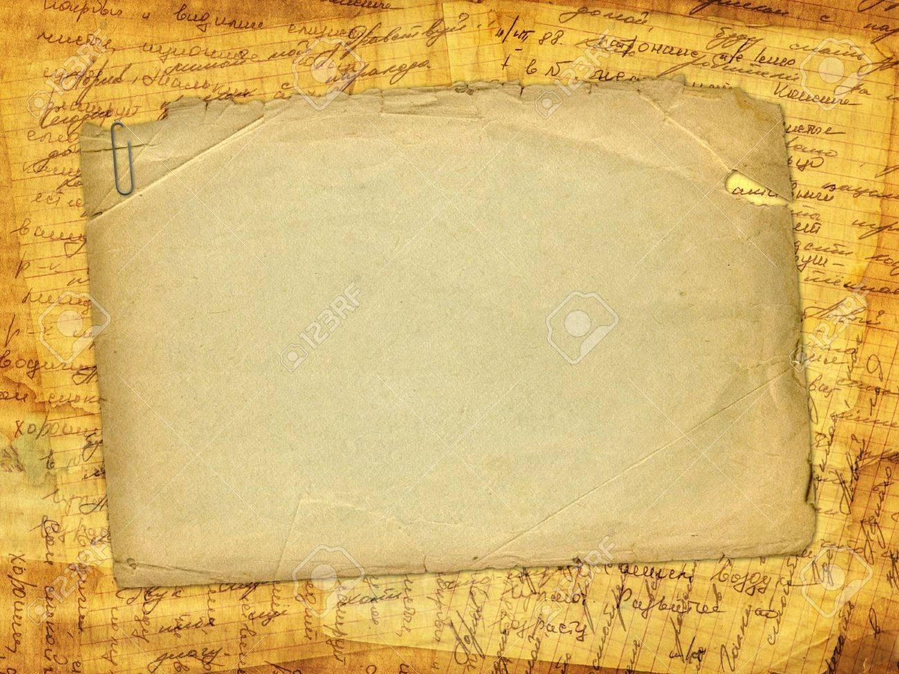Scrapbook paper design - Grunge Alienated Paper Design In Scrapbooking Style Stock Photo 8835258