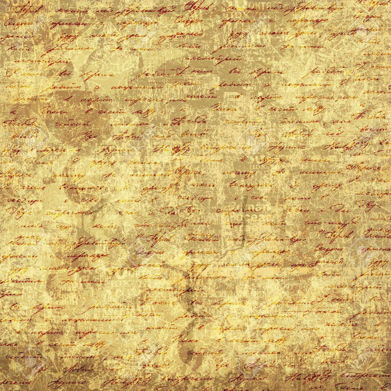 Grunge abstract background with handwrite text for design Stock Photo - 11496474