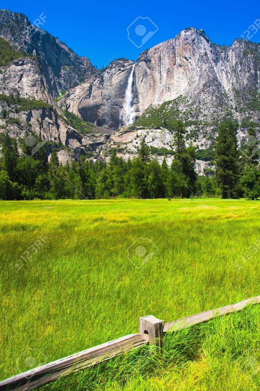 Yosemite Falls in Yosemite National Park,California - 20138861