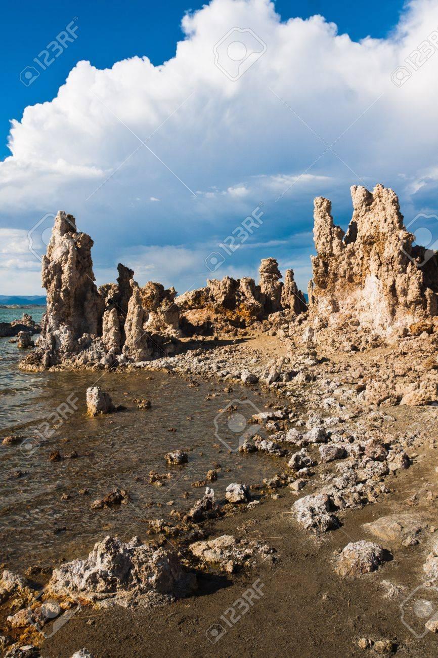 Tufa Formation in Mono Lake, California - 20138929