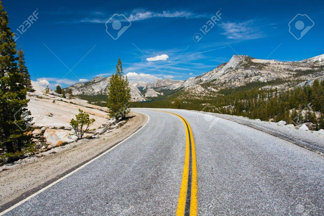Tioga Pass Road in Yosemite National Park,California - 20138943