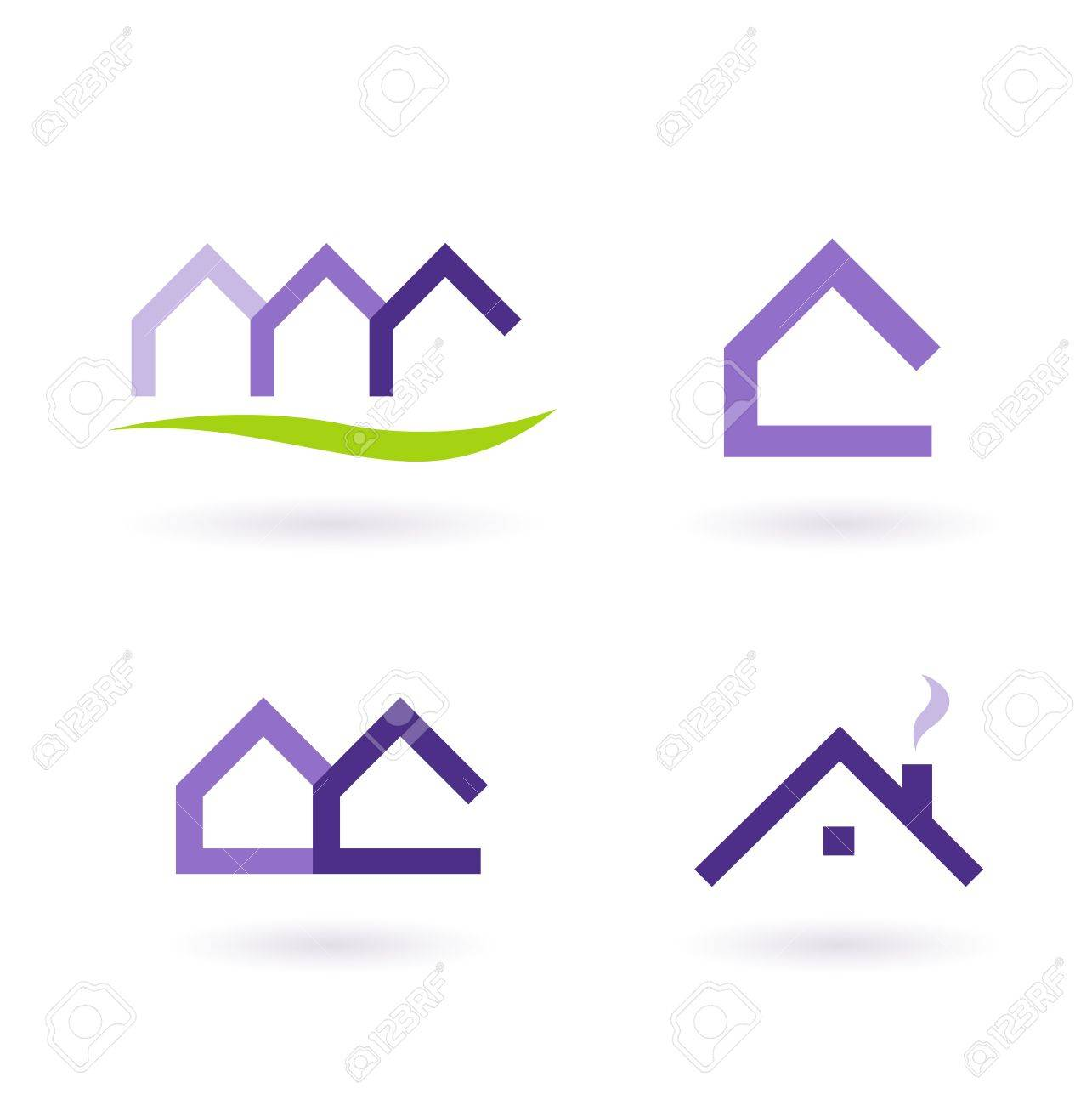 Collection of real estate / architecture icons. Vector format. Stock Vector - 9310910