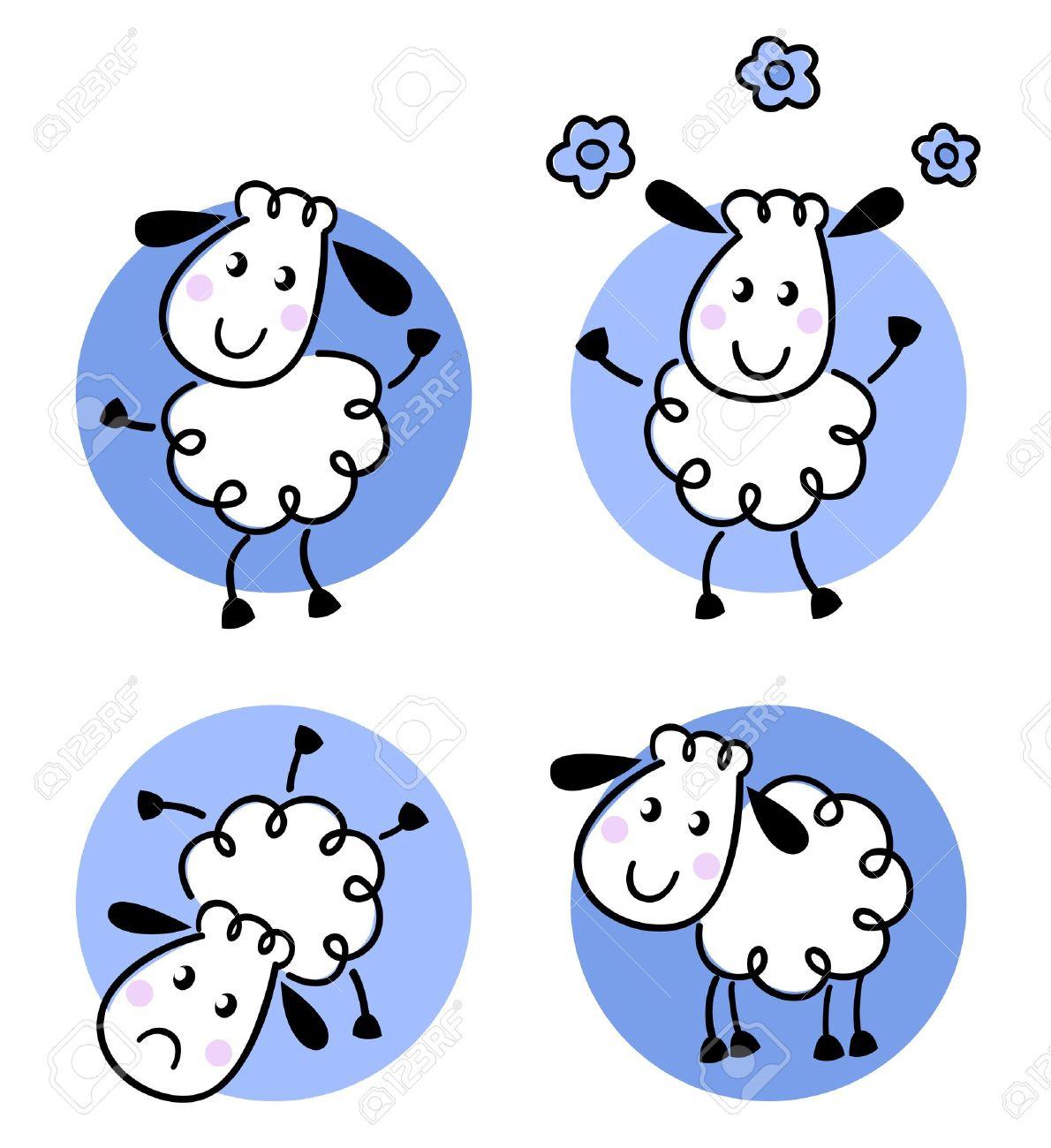 Afbeeldingsresultaat voor schapen cartoon