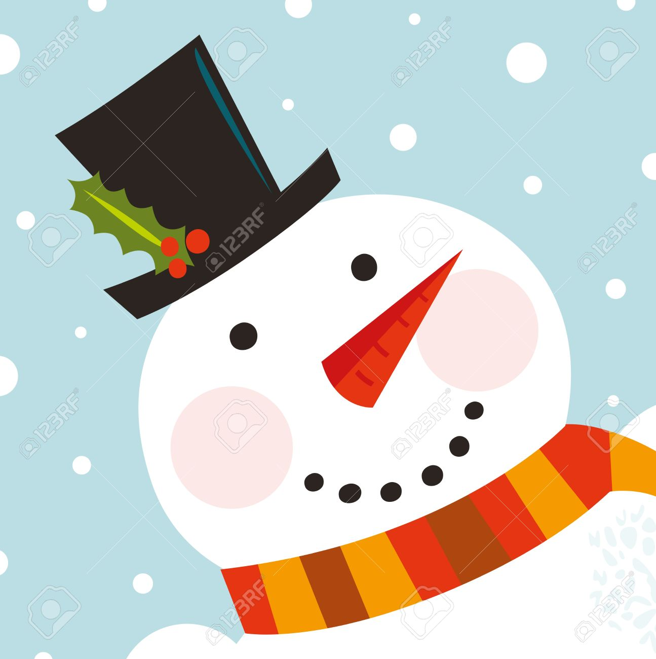 Carrot Nose Clipart Carrot Nose Happy Christmas