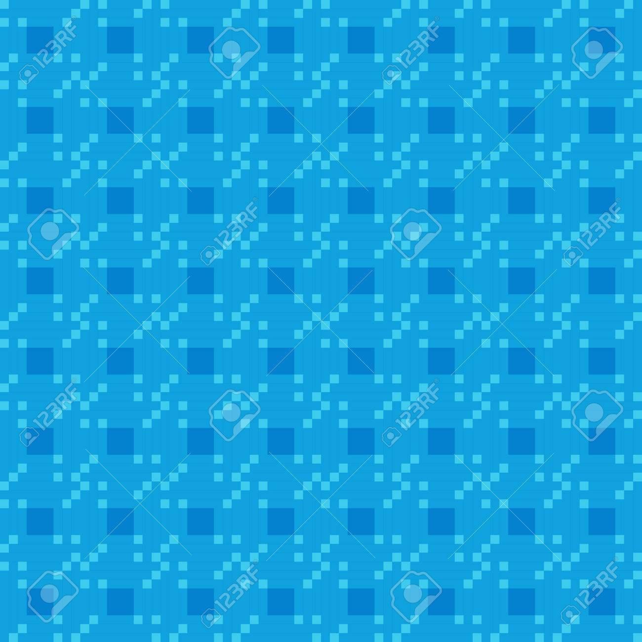 Vettoriale Geometrico Blu Modello Che Si Ripete Vettore Sfondo