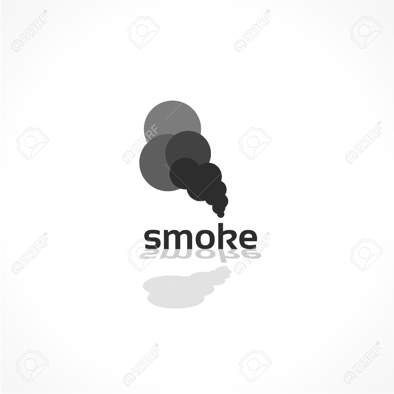 smoke vector icon abstract background design royalty free cliparts rh 123rf com vector smoker vector smoke hollow grill