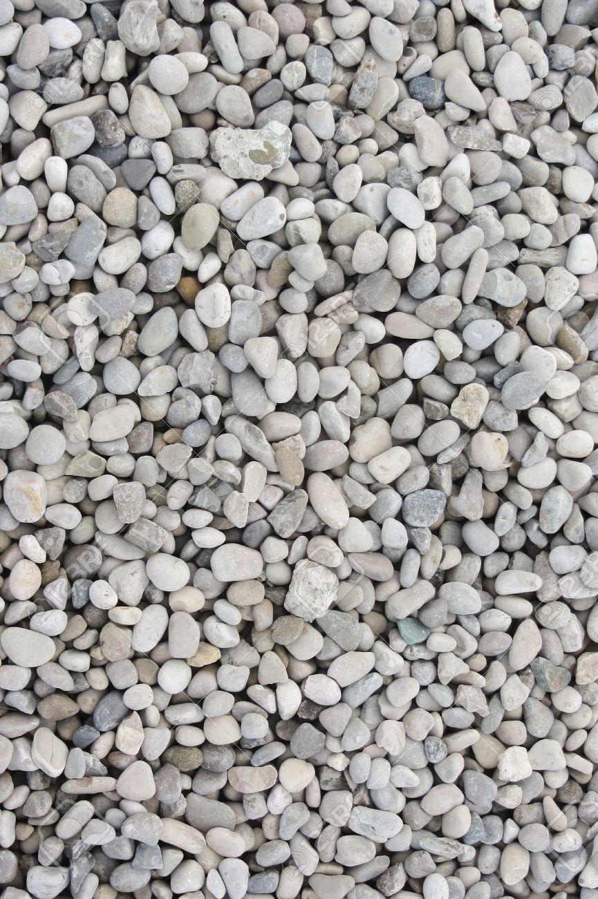 white gravel as texture - 50465965