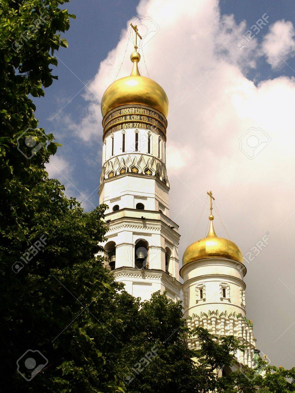 Cathedral, domes, religion, christianity, the Kremlin, Moscow, Russia - 2057728