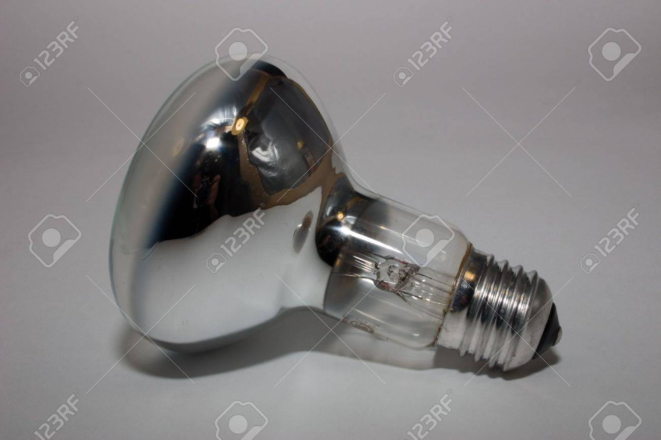 electric mirror lamp on a grey background - 2263225