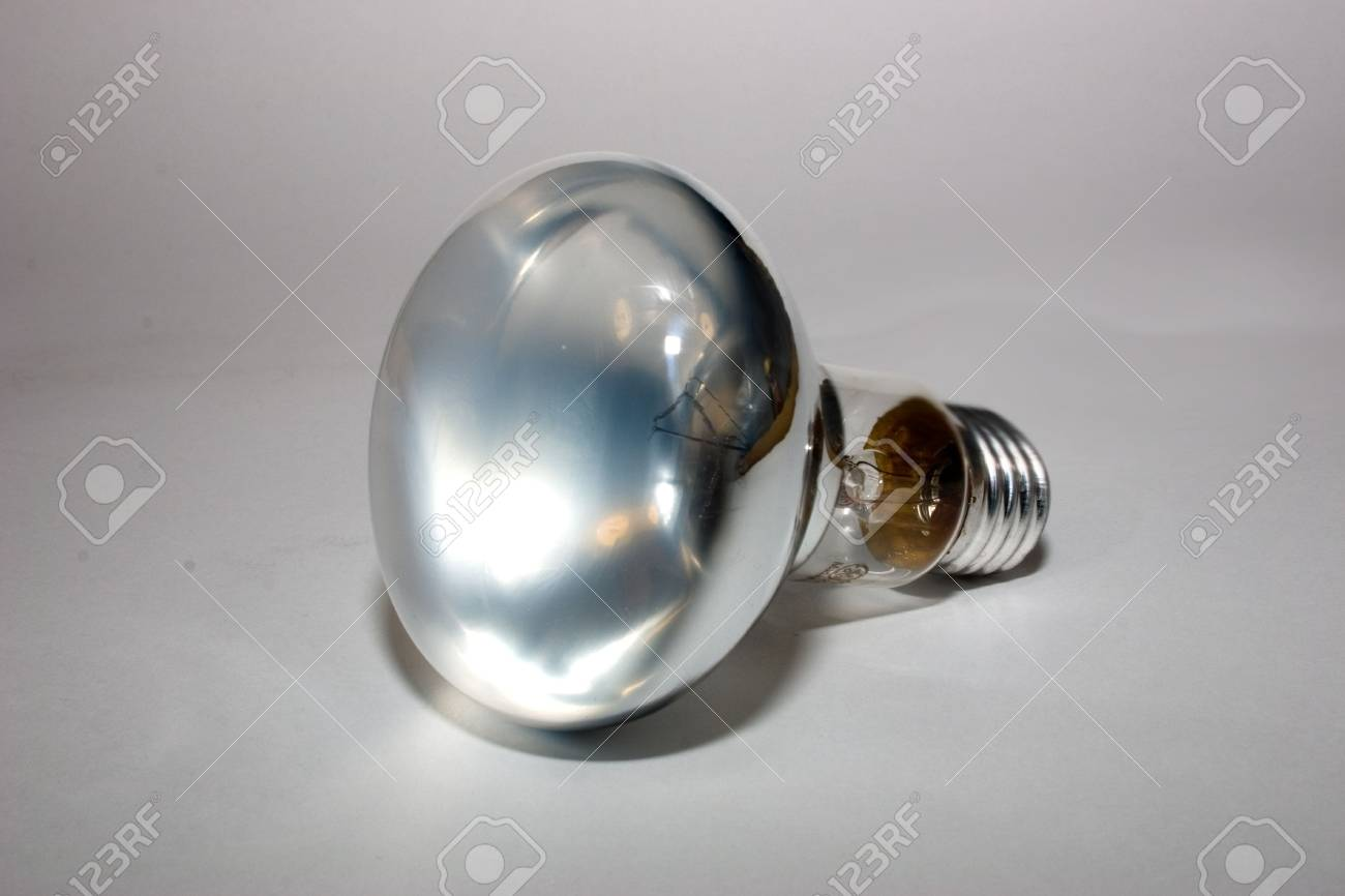 electric mirror lamp on a grey background - 2263230