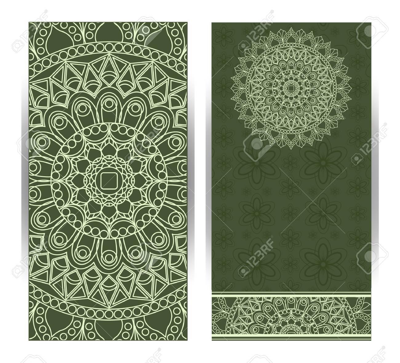 Wedding Invitation Or Card With Abstract Background Islam Arabic Indian Dubai Oriental Design Asian Arab Indian