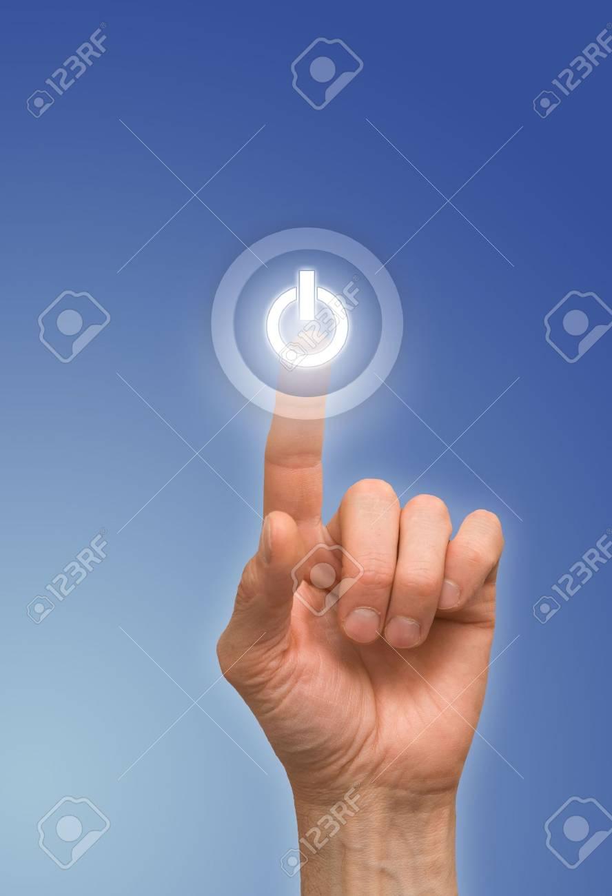 one finger Stock Photo - 6711562