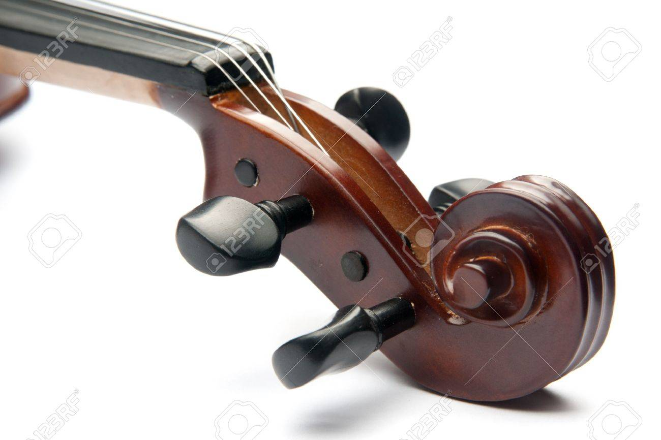 violin isolated on white - 9257479