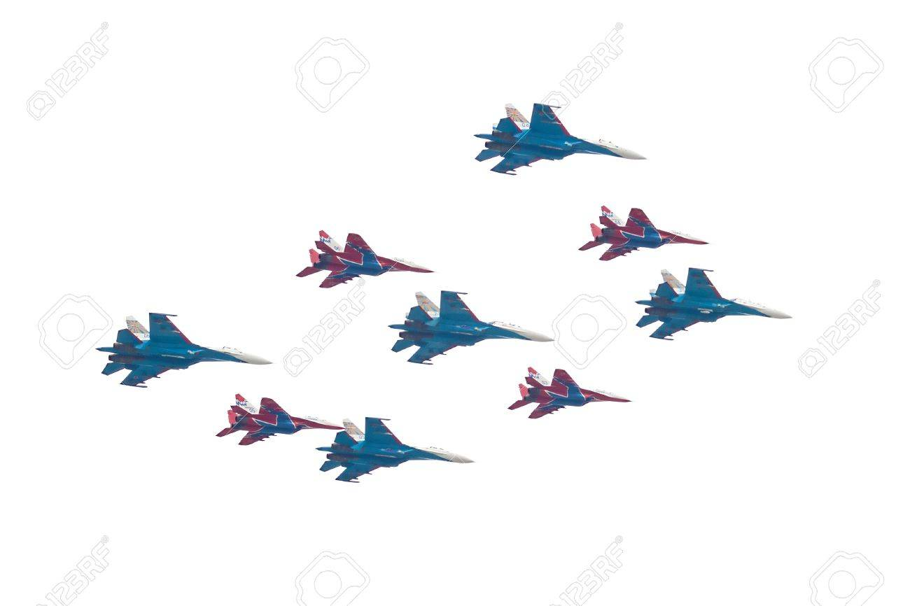 Su-27 is a twin-engine supermanoeuverable fighter aircraft,mig-29