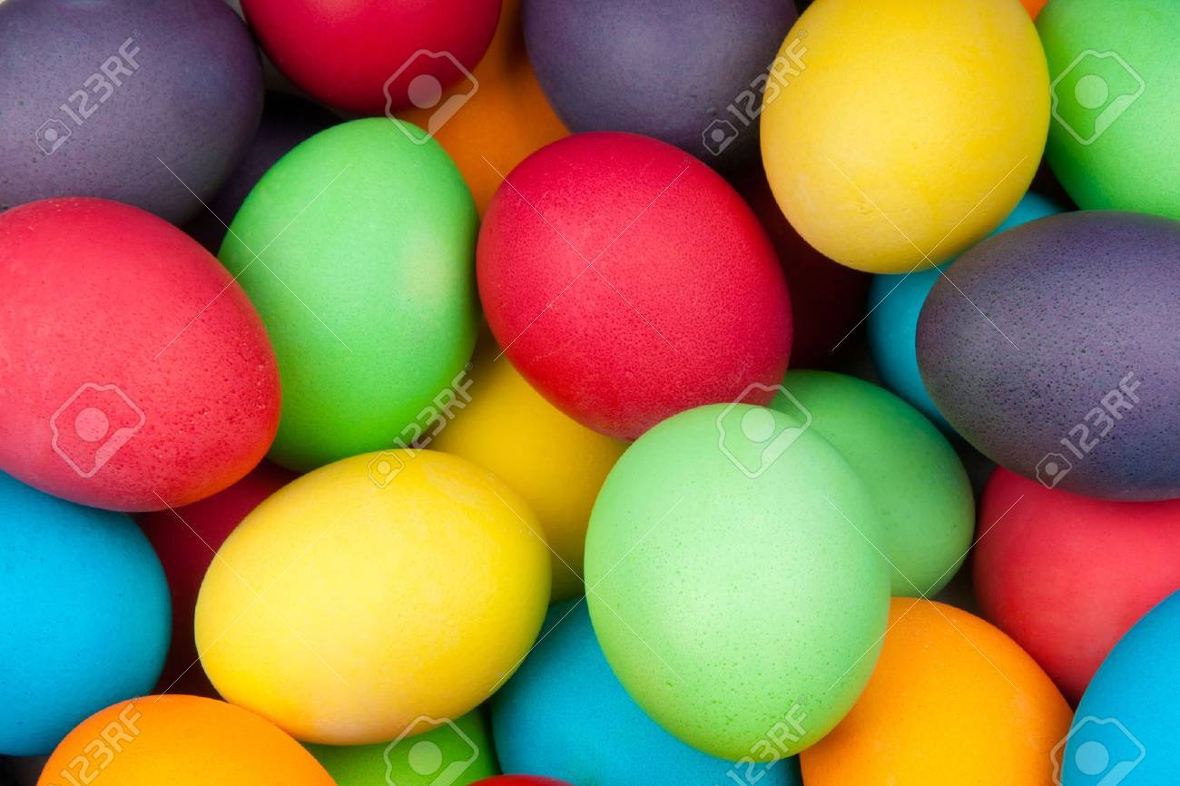 color eggs for holiday easter, background - 37673198
