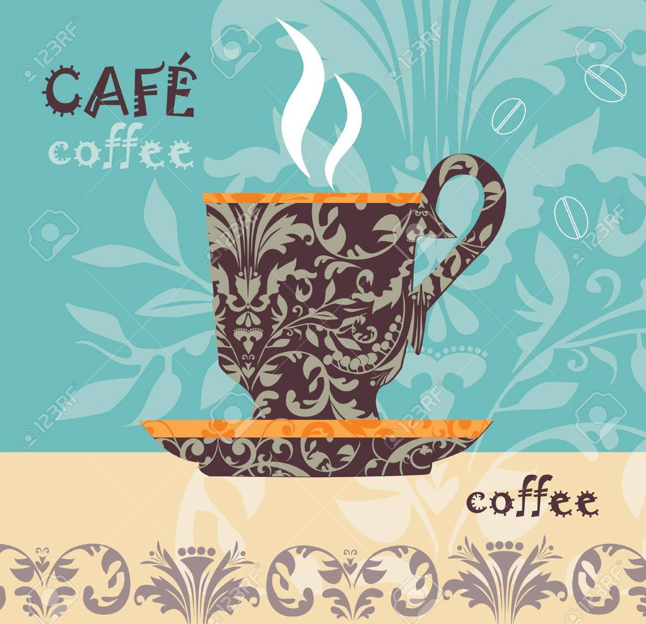 Vector coffee Stock Vector - 10502075