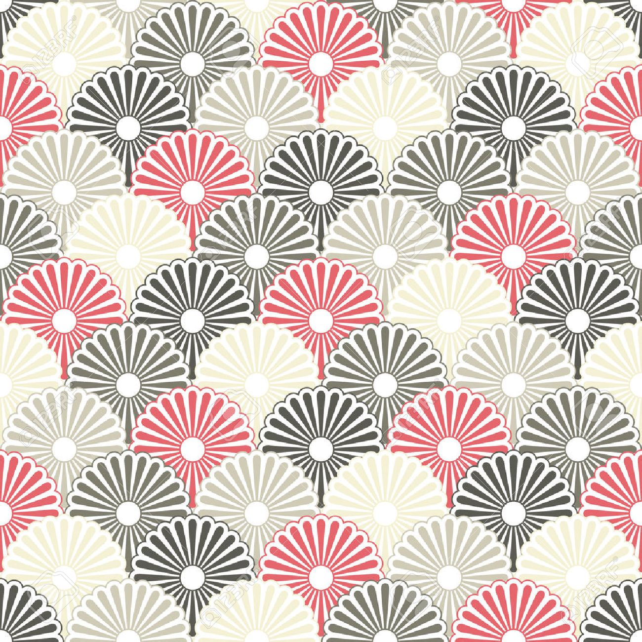 Japanese Seamless Background Royalty Free Cliparts, Vectors, And ...
