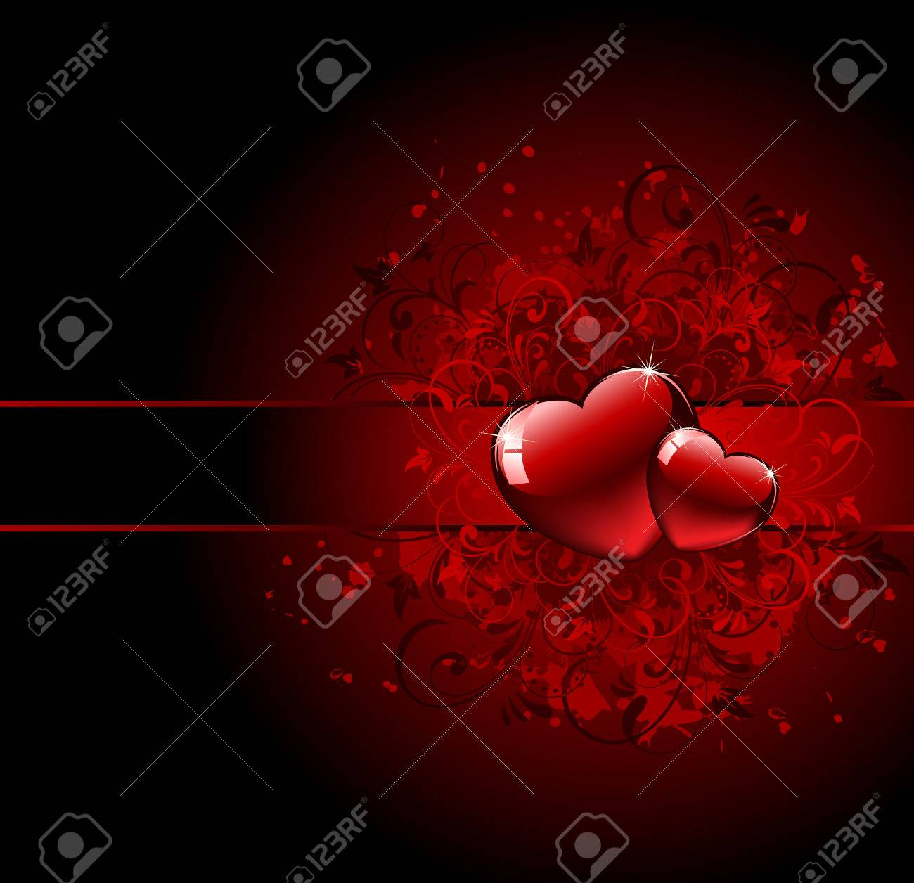 Group Of Gothic Love Background