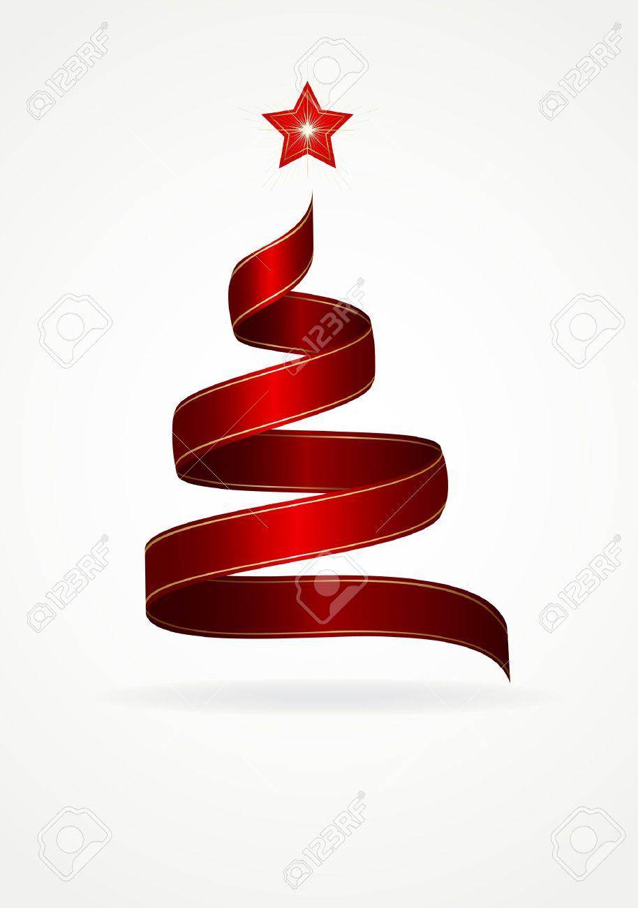 Forma de arbol de navidad