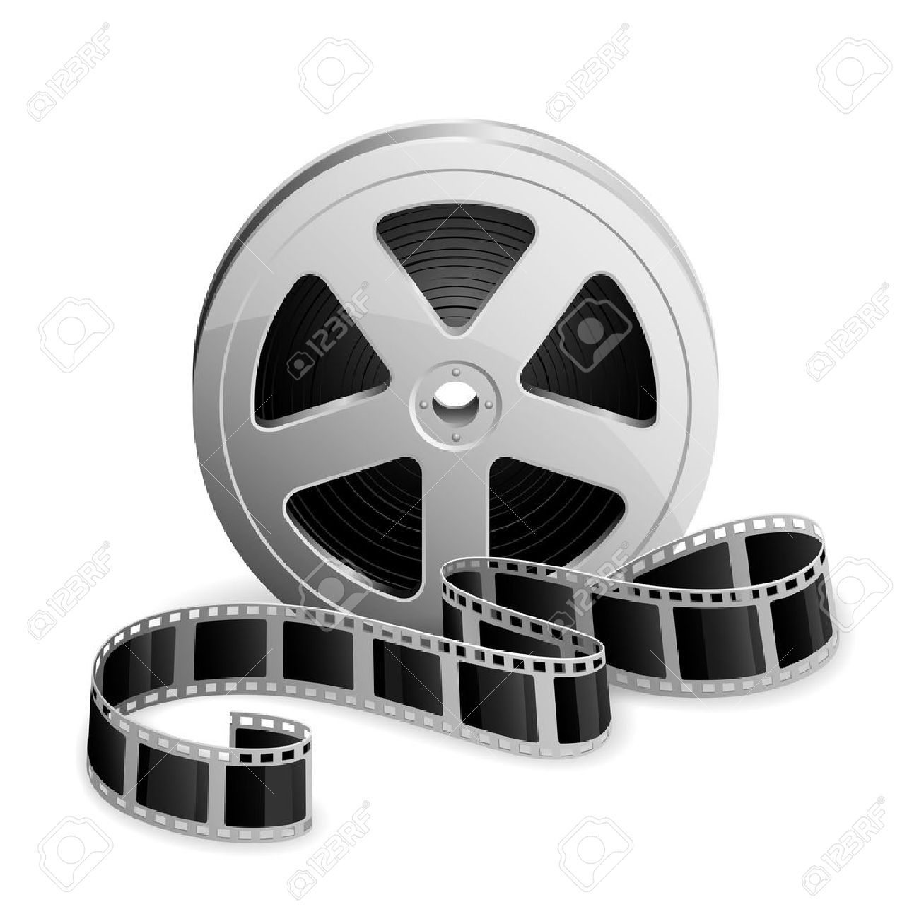 12,212 Film Reel Icon Stock Vector Illustration And Royalty Free ...