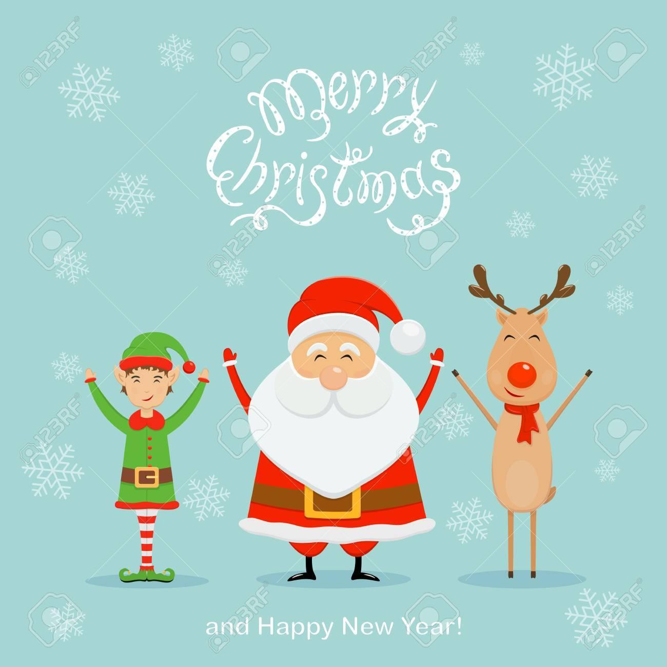 christmas greeting card design concept. - 89420570