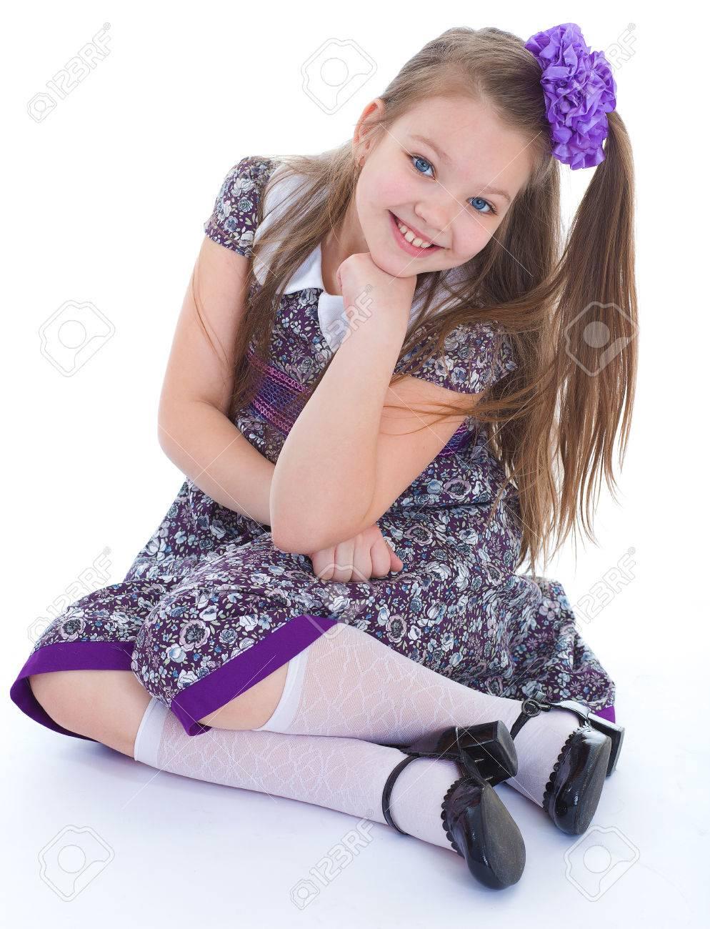девушка в чулках. фото