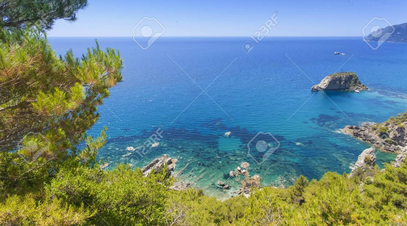 Crete island with beautiful beach in Greece - 133040766