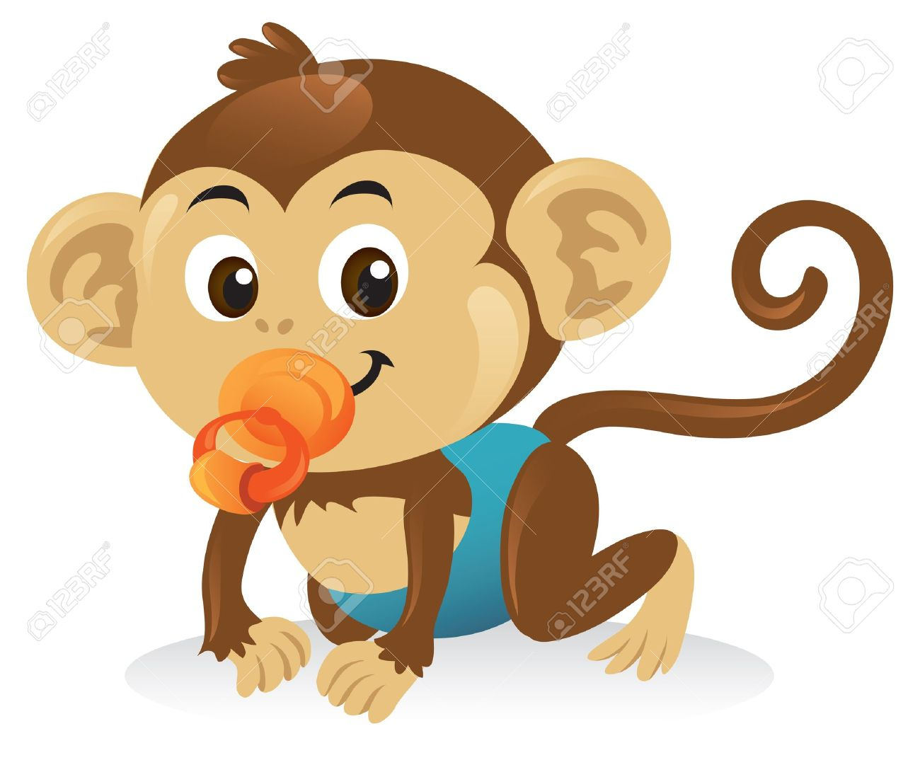 Monkey Clipart For Baby Shower Monkey Boy Baby Shower Theme