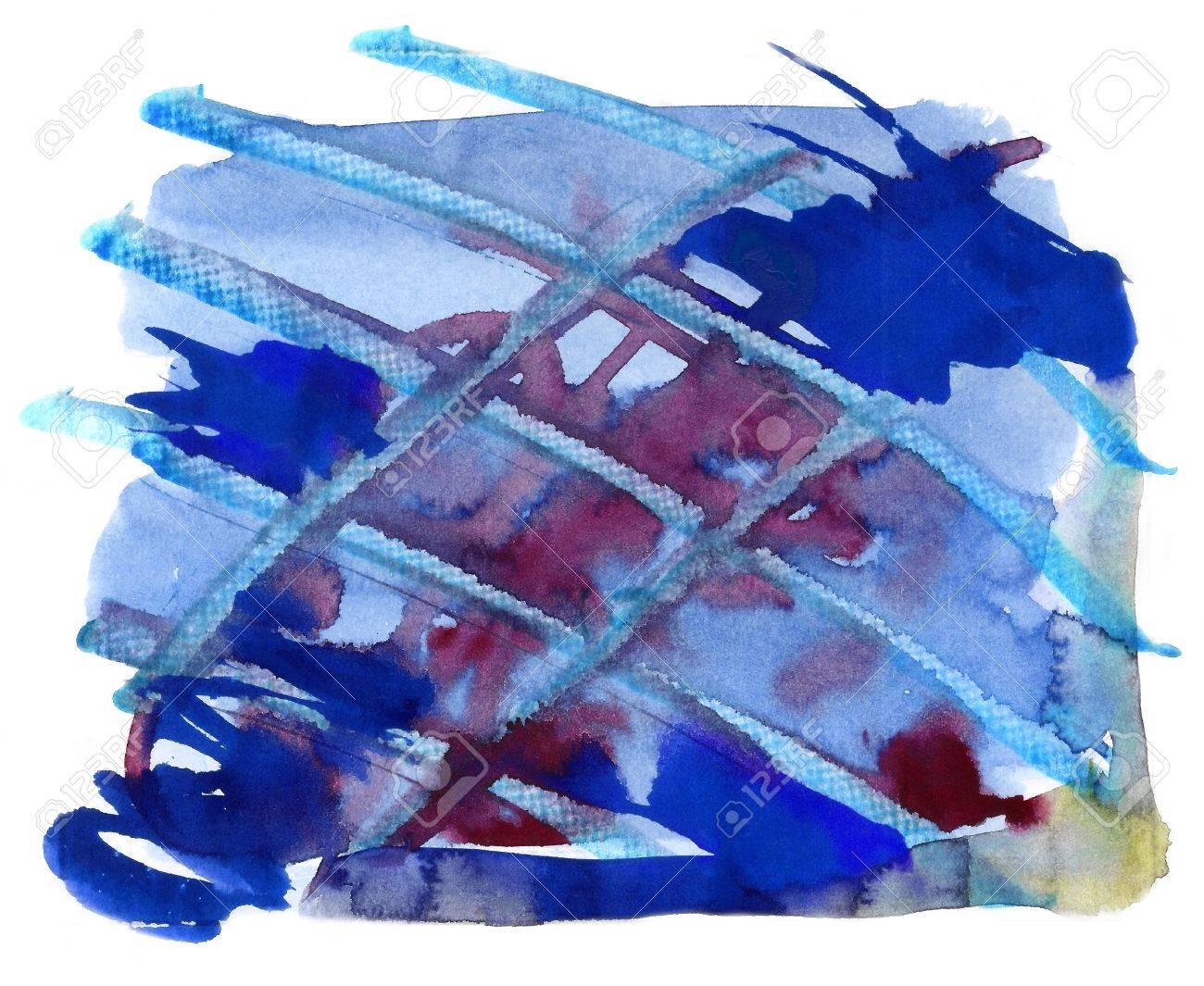 Abstract watercolor handmade effect Stock Photo - 13789790