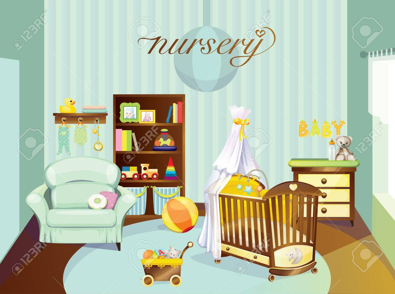 Nursery Stock Vector - 22406840