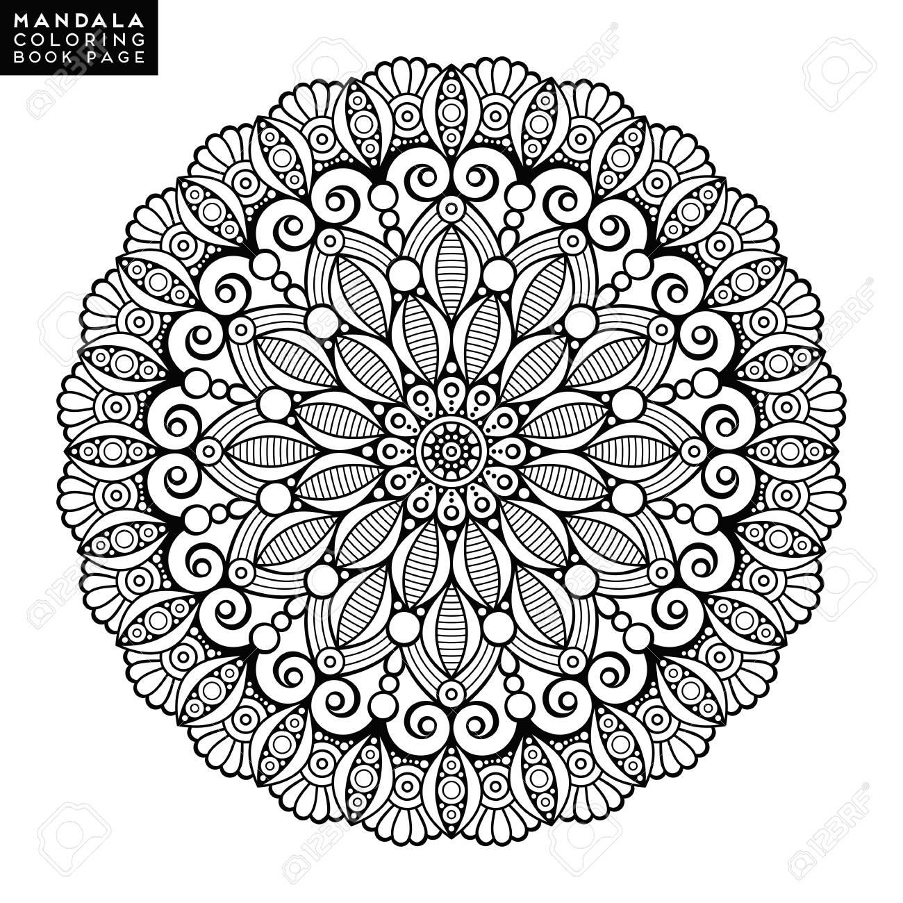 Increíble Vagos De Mandala De Coloriage Colección - Ideas Para ...