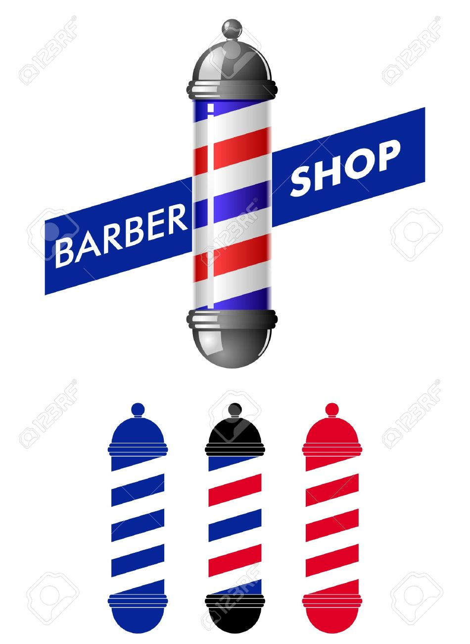 barber shop pole royalty free cliparts vectors and stock rh 123rf com