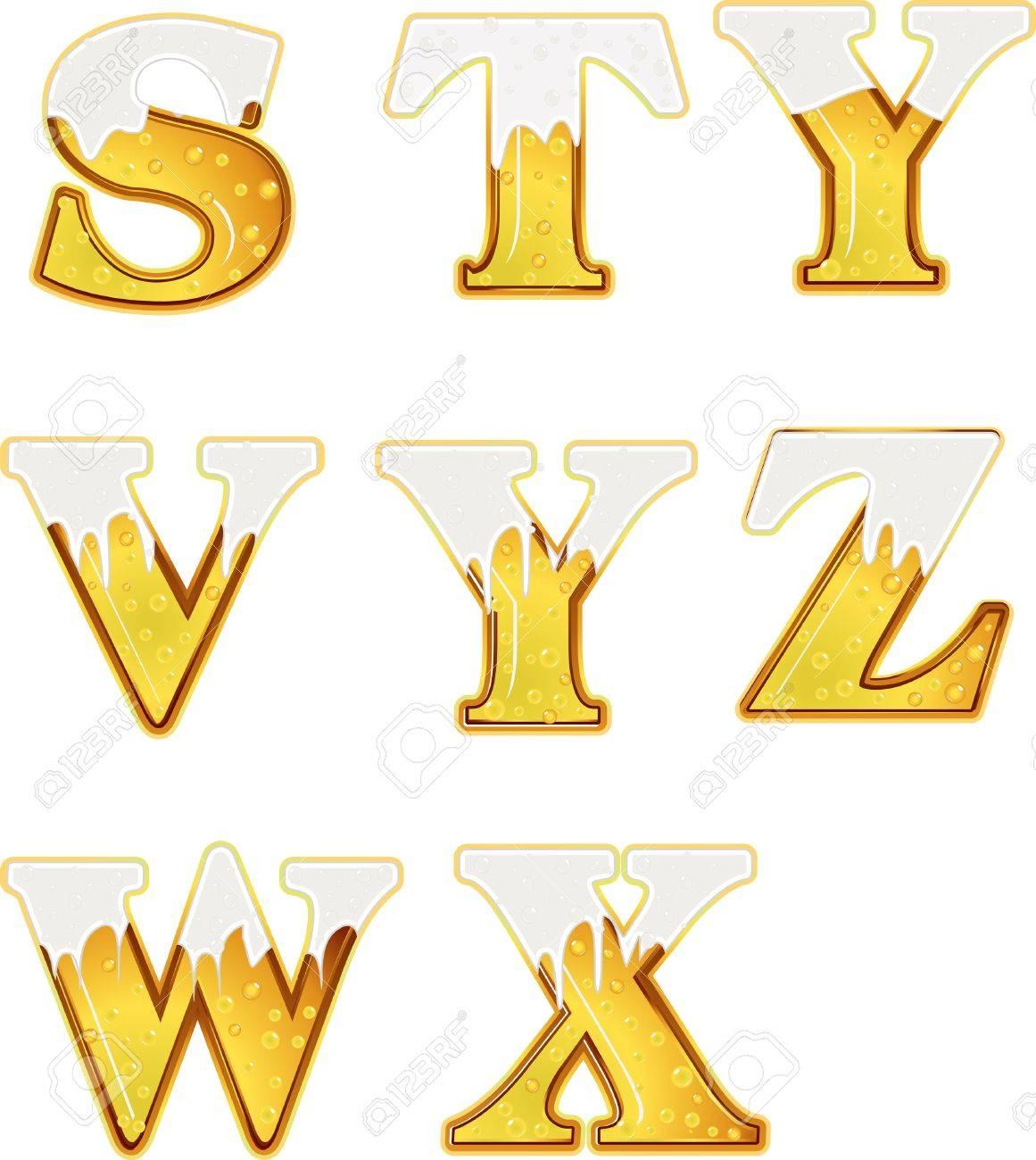 beer word3 Stock Vector - 16796662