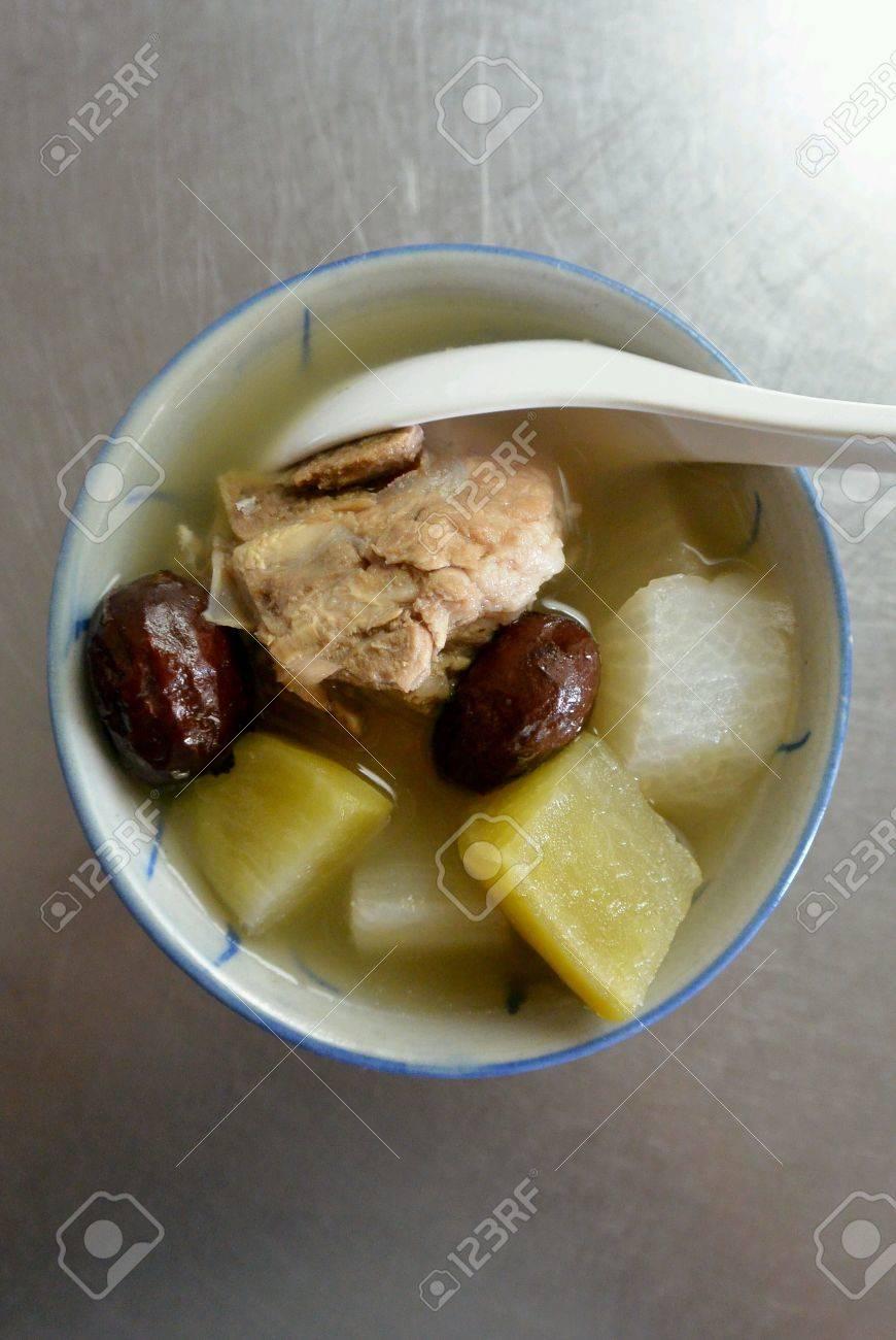Rettich suppe