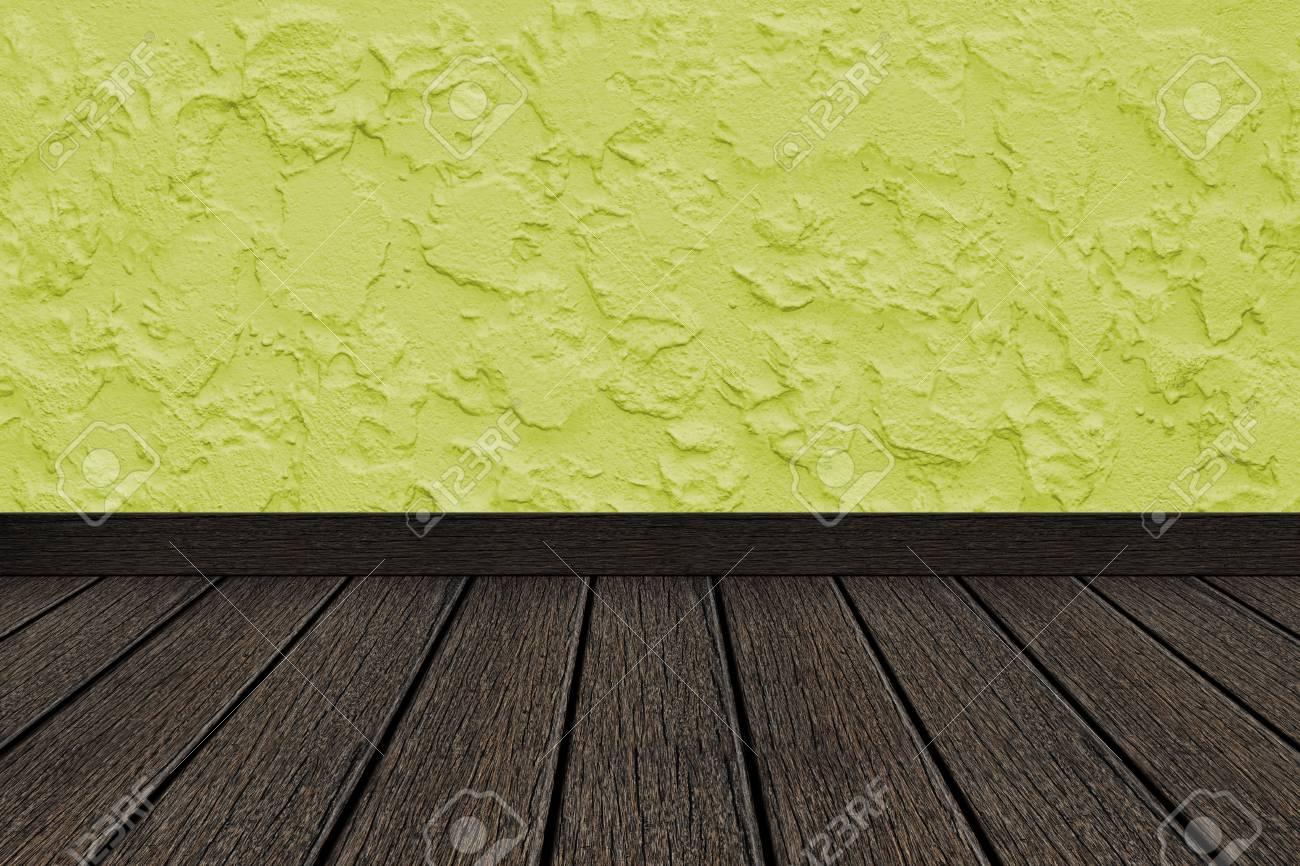 Perspective De Chambre - Vert Pomme Mur De Ciment Est En Plâtre De ...