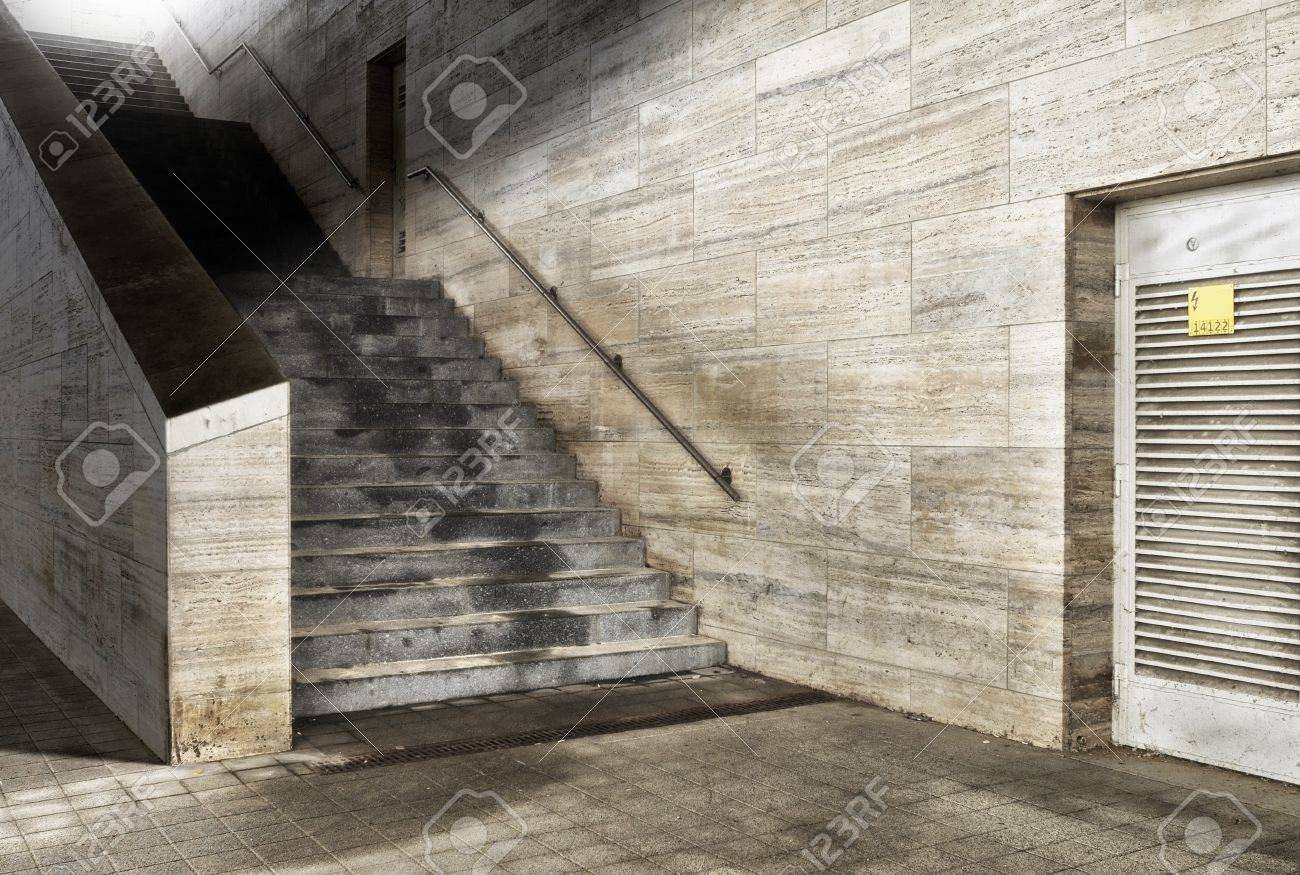 Digital background for studio photographers  Marble building  Outdoor Stock Photo - 16693190