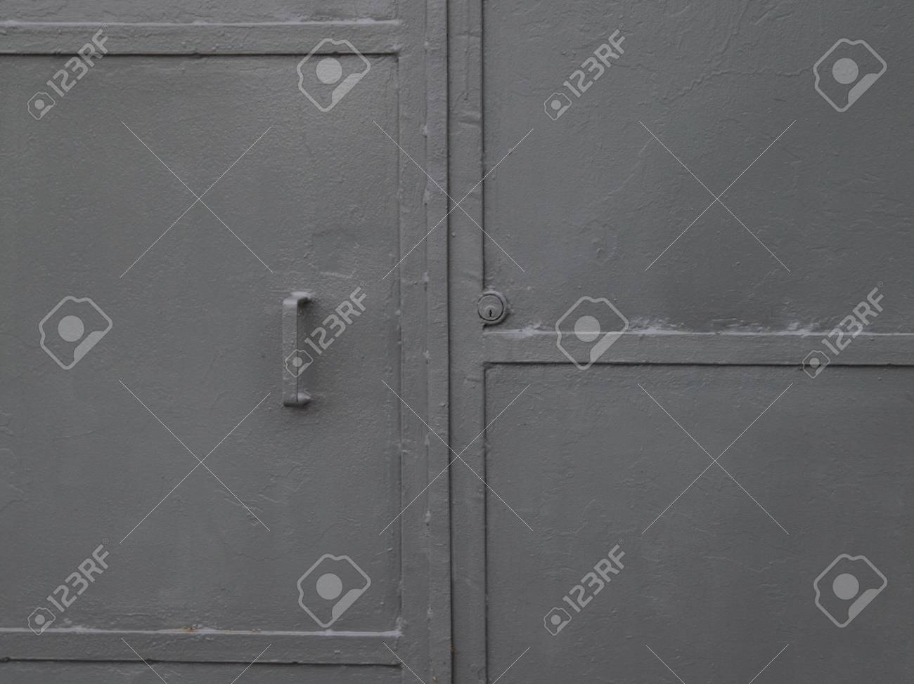 grunge industry metal door background Stock Photo - 12788117