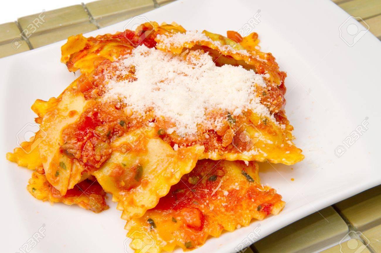 Pasta Ravioli Ravioli Pasta With Red Tomato