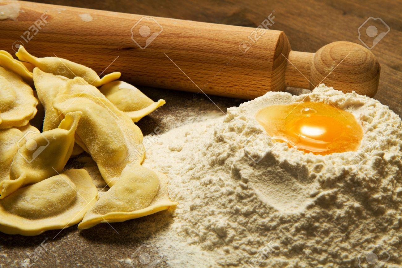 Pasta Ravioli Ravioli Homemade Pasta Typical