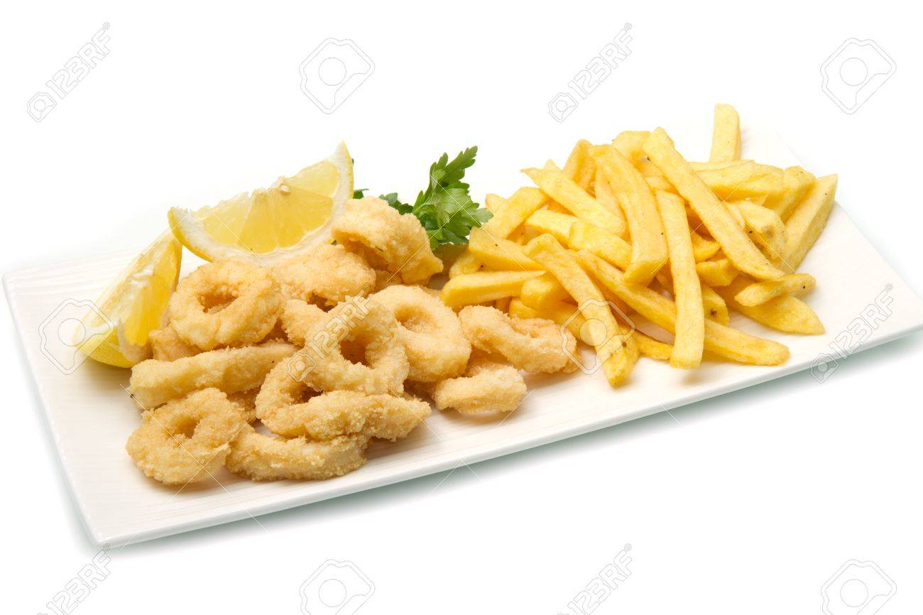 a dish with mixed fried Stock Photo - 13486907