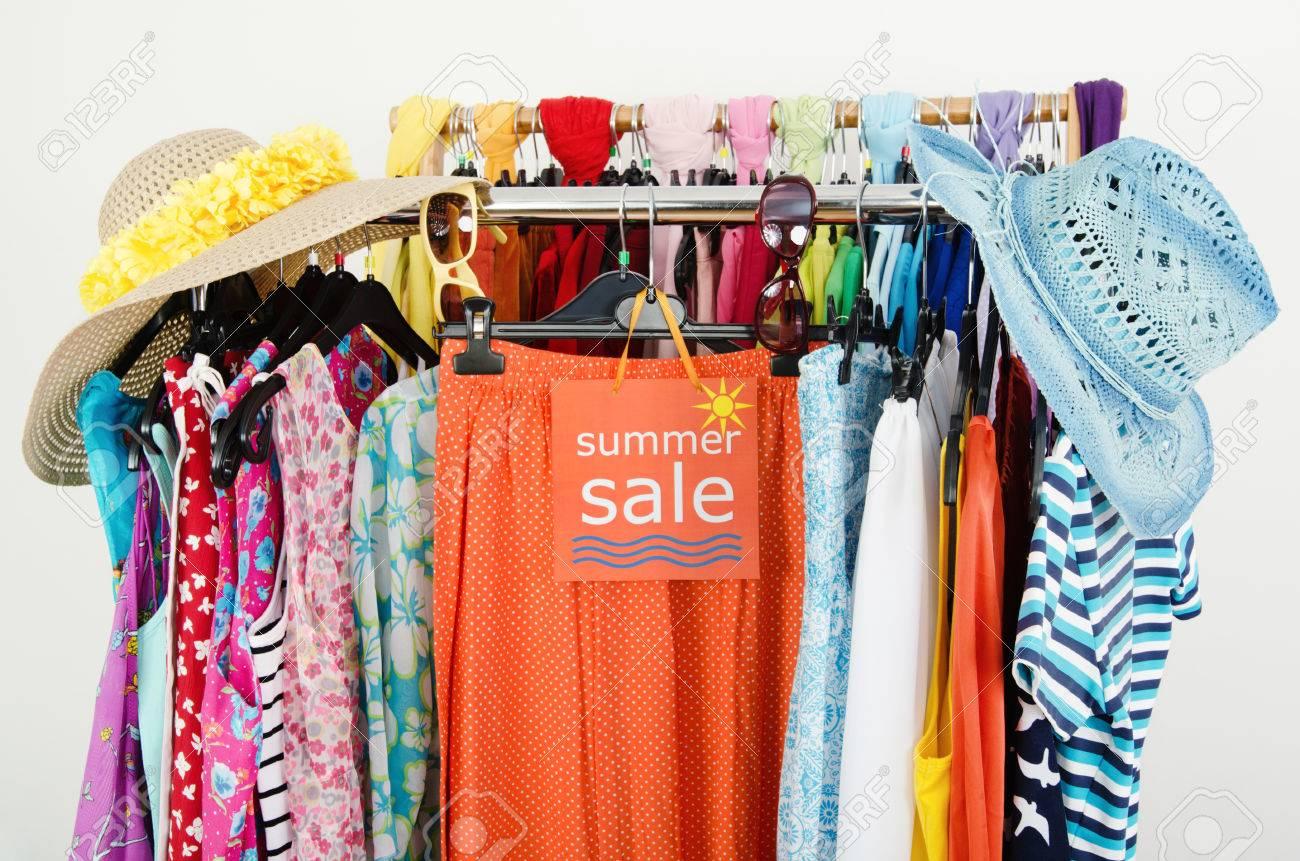 sale on summer clothes