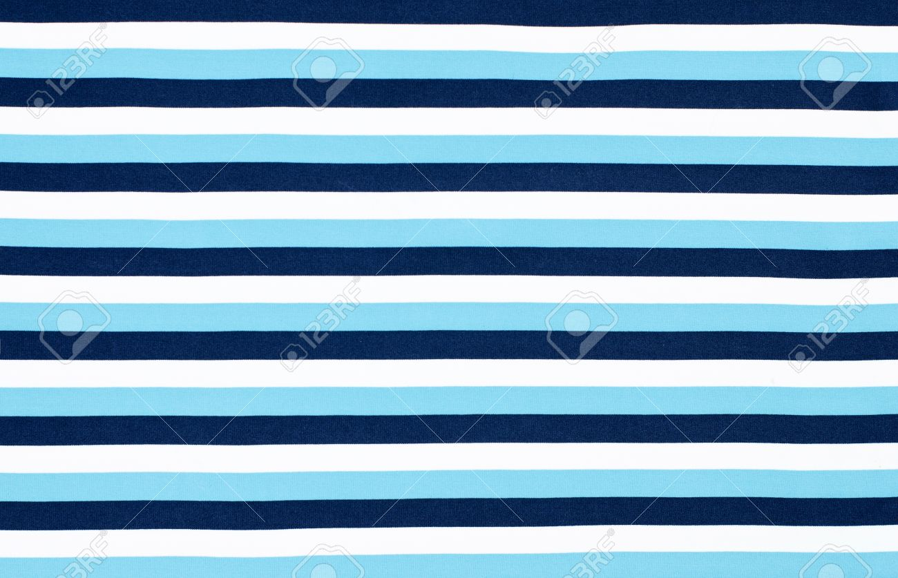 3ddf40cdae1 Navy blue striped background. Blue and white horizontal stripes fabric  pattern. Stock Photo -