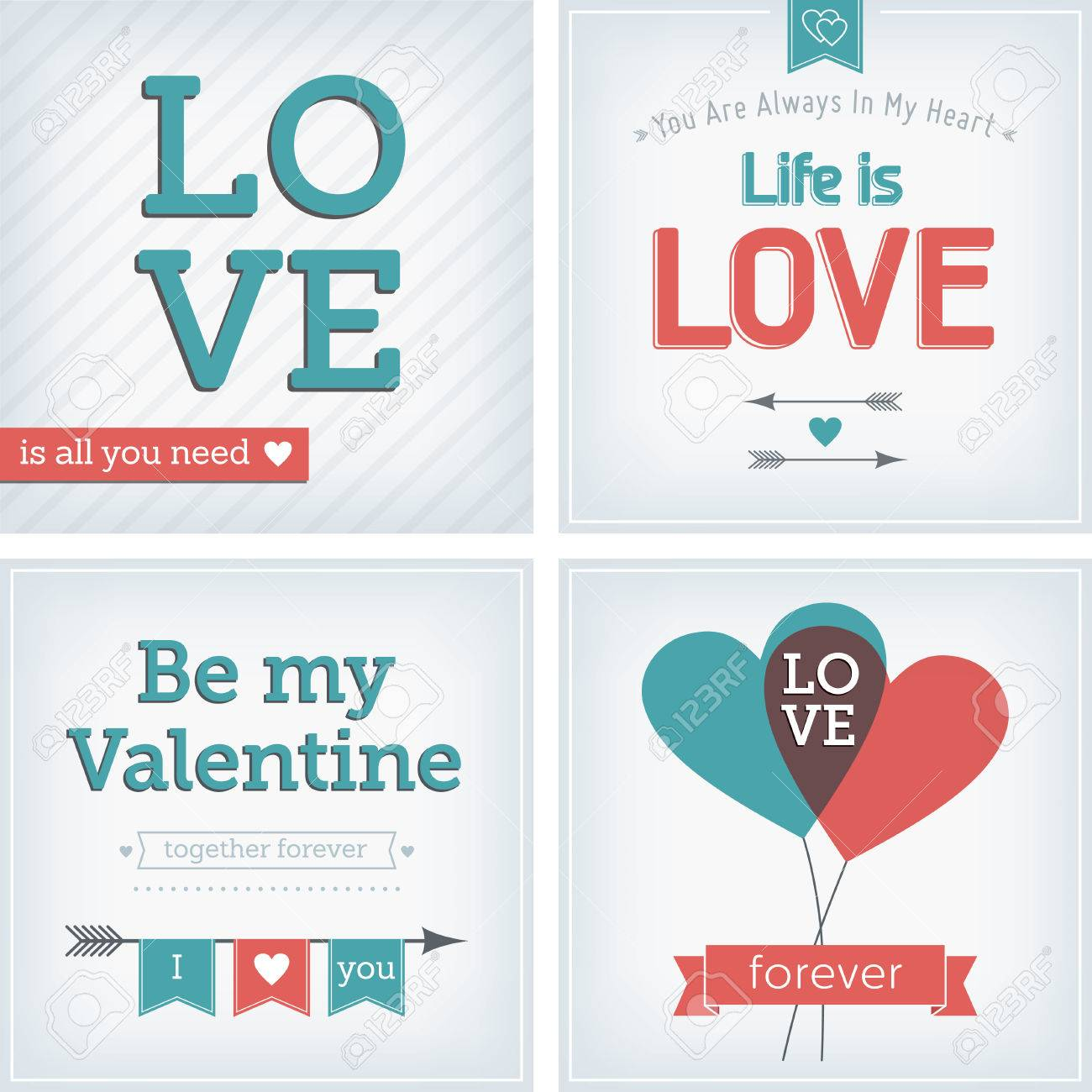 Valentine s day and wedding card with heart, ribbon and decoration Stock Vector - 24756035