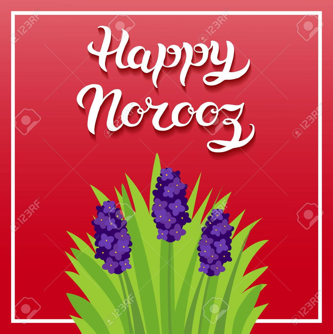 Greeting card with title happy norooz word norooz mean the greeting card with title kristyandbryce Gallery