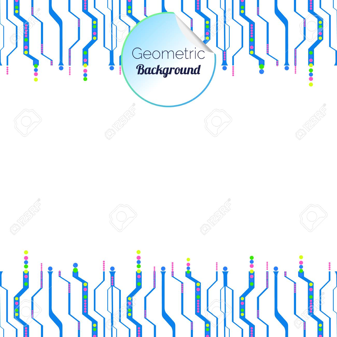 Abstract Circuit Board Background Web Design Vector Royalty Free Stock 36003007