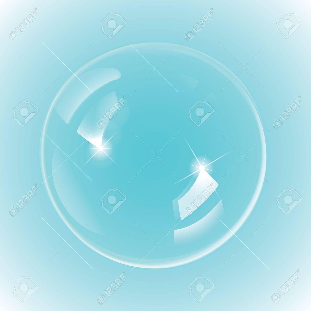 Background image 300 dpi - White Bubble On Blue Background 300 Dpi Jpg Illustrator Cs Eps10 Svg