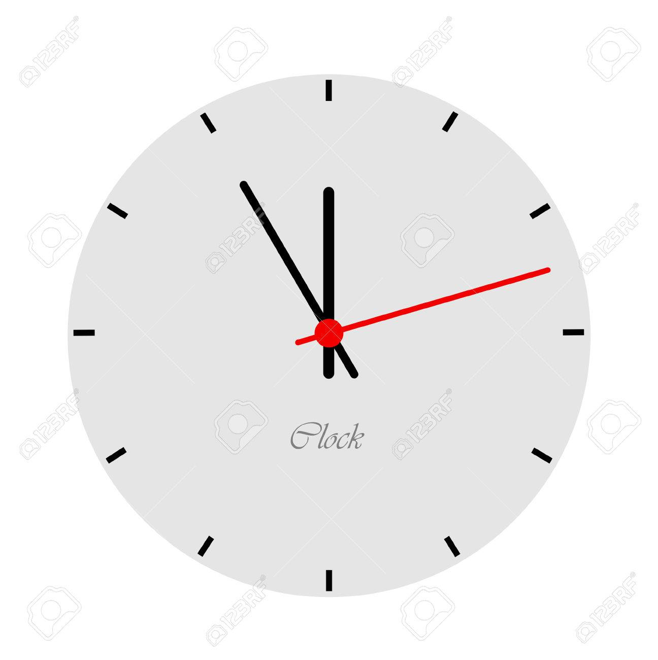 modern clock face royalty free cliparts vectors and stock  - modern clock face stock vector