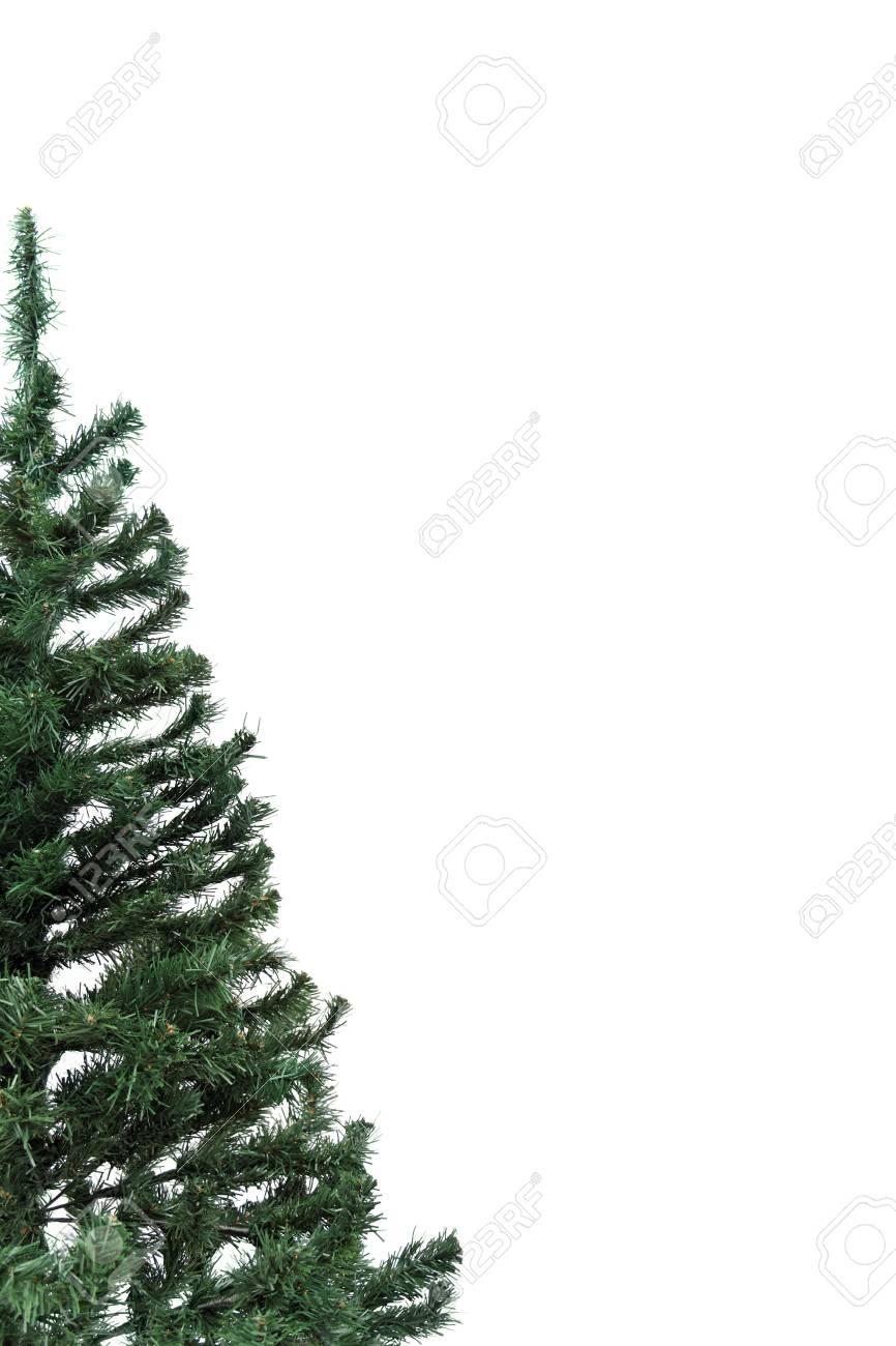 Half Christmas Tree.Christmas Theme Half Christmas Tree With Copyspace